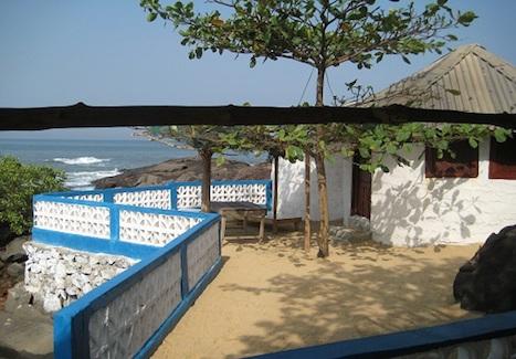 Bedroom at lakka beach
