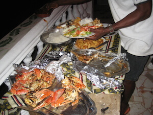 Resturant Food Lakka Beach