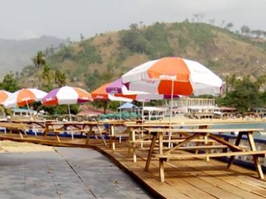 Resturant Food Lakka Beach